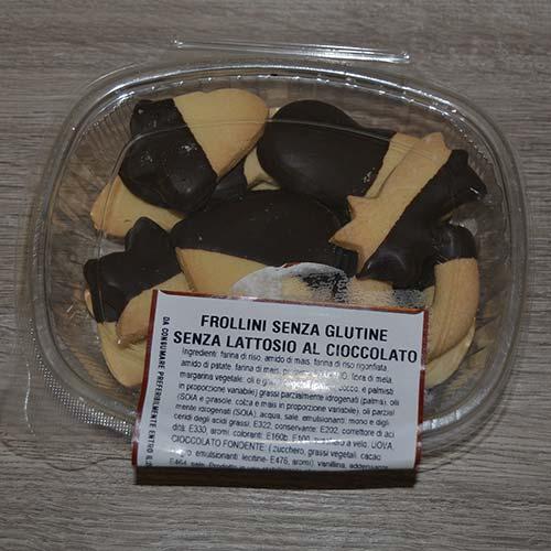 DFrollini senza Glutine al cioccolato - confezione 200 gr