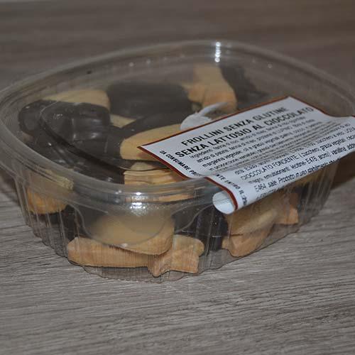 DFrollini senza Glutine al cioccolato - varie forme