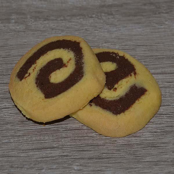 Frollini vaniglia e cioccolato - rotondi