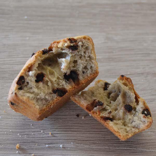 Plumcake senza lattosio - gocce di cioccolato
