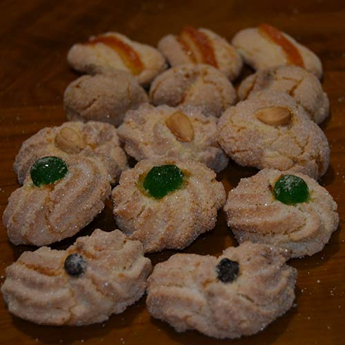 Biscotti alle mandorle misti
