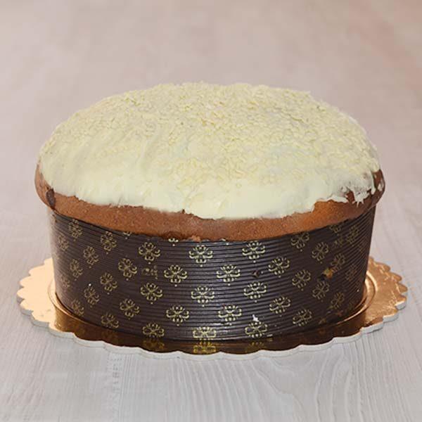 Panettone al cioccolato bianco - glassato