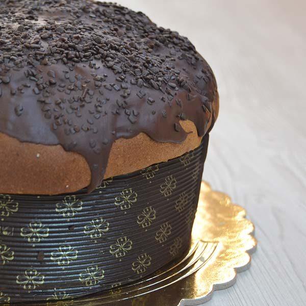 Panettone al cioccolato - glassato