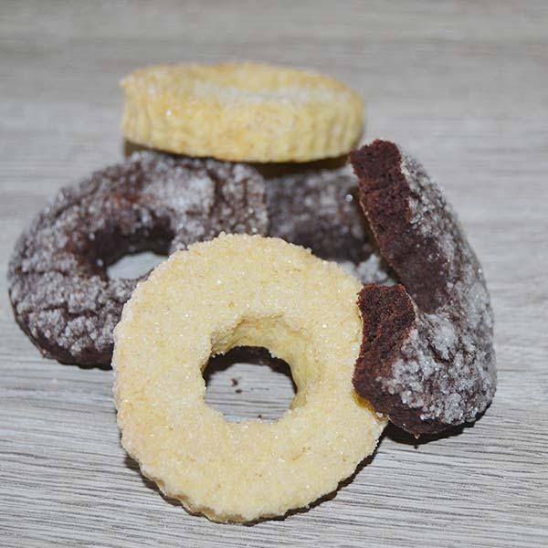 Biscotti Cioccolato e Vaniglia senza Lattosio
