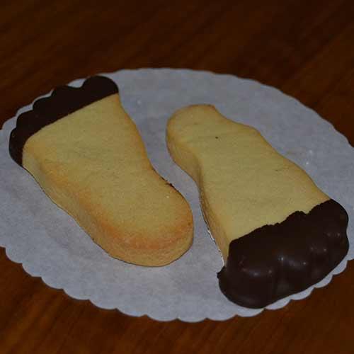 Biscotti a forma di piede