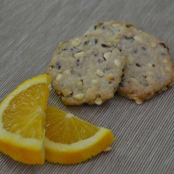 Biscotti ai cereali - arancia