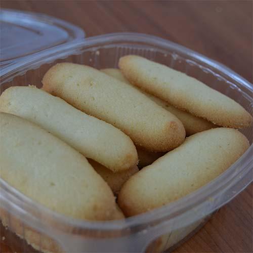 Lingue di Gatto senza glutine - confezione da 200 gr