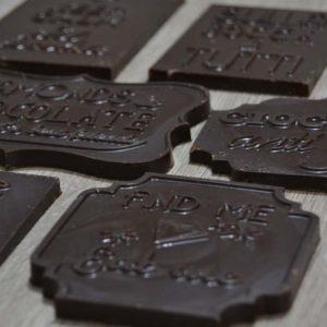 Barrette di cioccolato senza tracce di latte