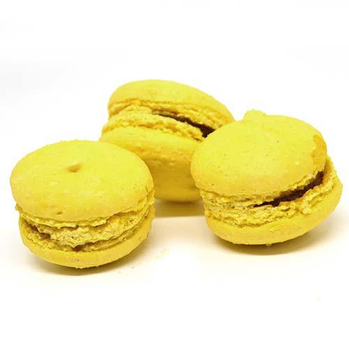 Macarons senza lattosio e senza glutine al limone