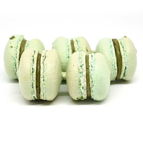 Macarons senza lattosio e senza glutine alla mela verde