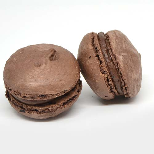 Macarons senza lattosio e senza glutine al cioccolato