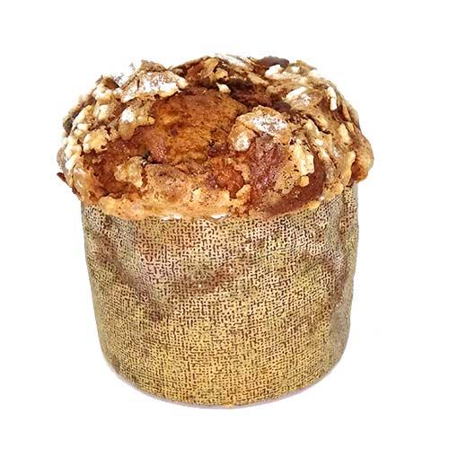 Almond gluten-free panettone - Raisins
