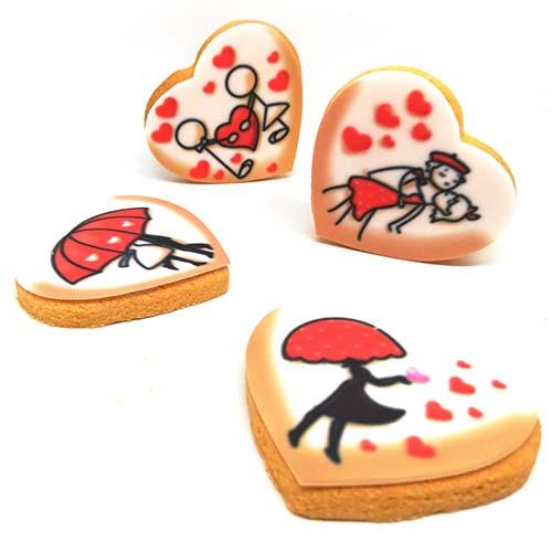 biscotti alla vaniglia per gli innamorati