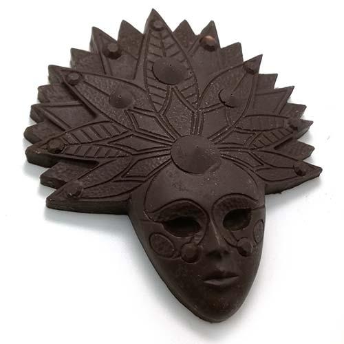 acquista online le mascherine di cioccolato fondente