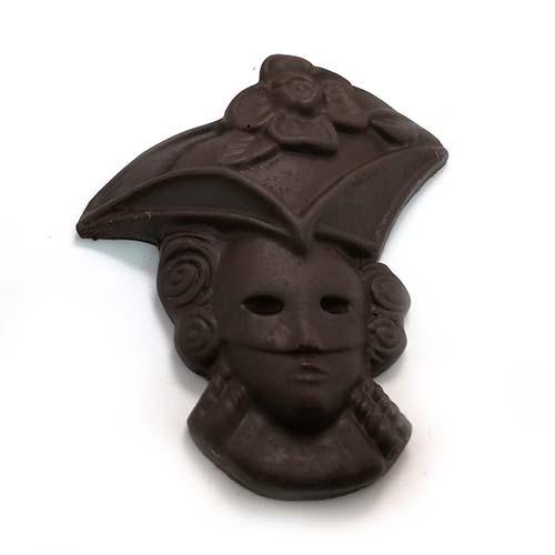maschera di carnevale, realizzata artigianalmente dai nostri pasticcieri