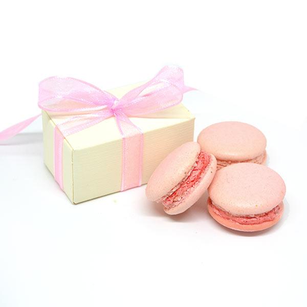 Macarons bomboniera bambina