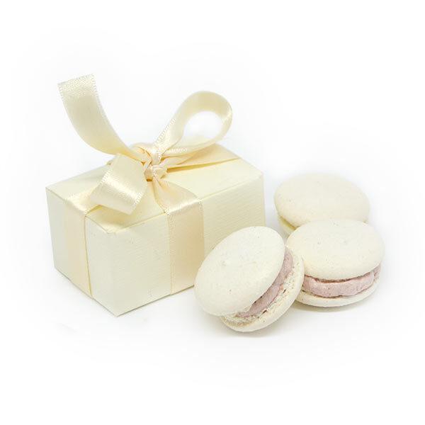 Macarons bomboniera matrimonio