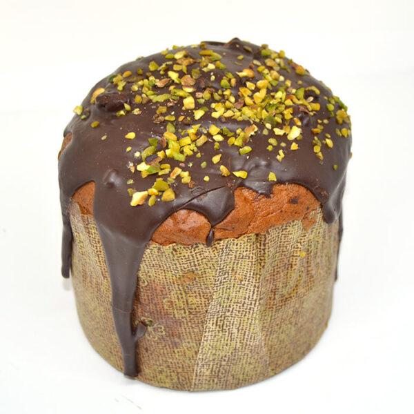 Pistachio gluten-free Christmas cake