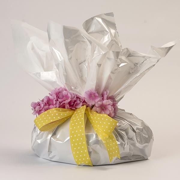 Confezione regalo per le colombe artigianali - versione bianca