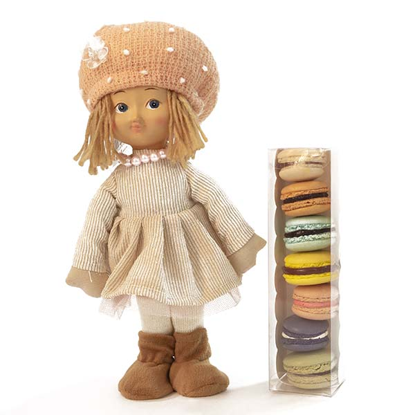 Doll with Macarons